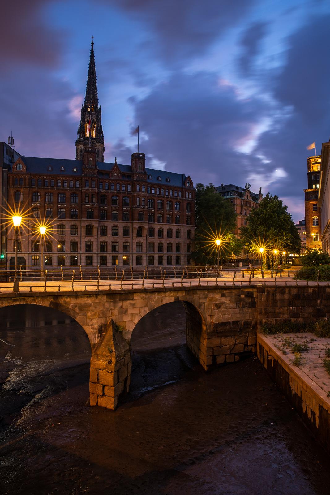 Zollenbrücke, Hamburg