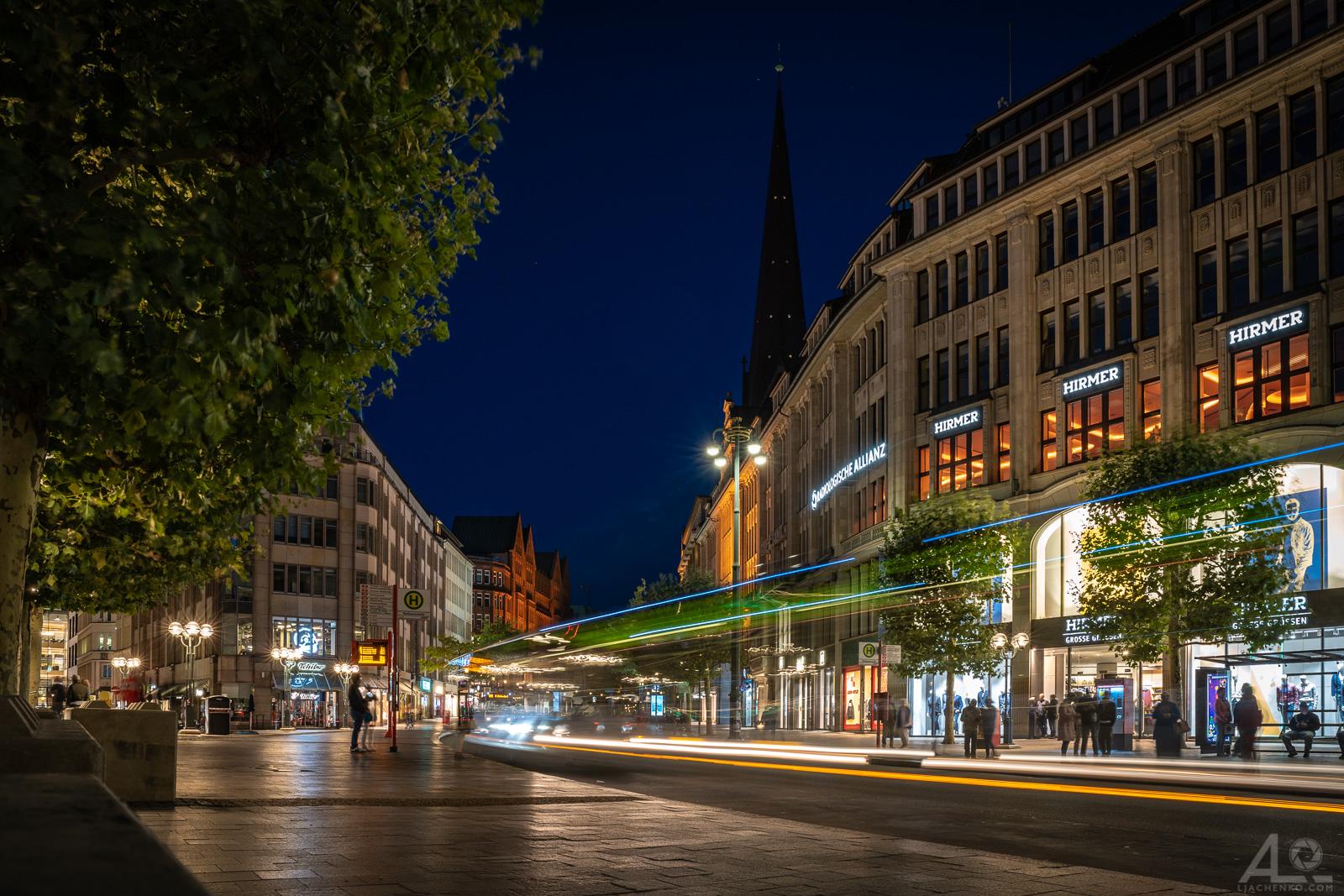 Hamburg abends