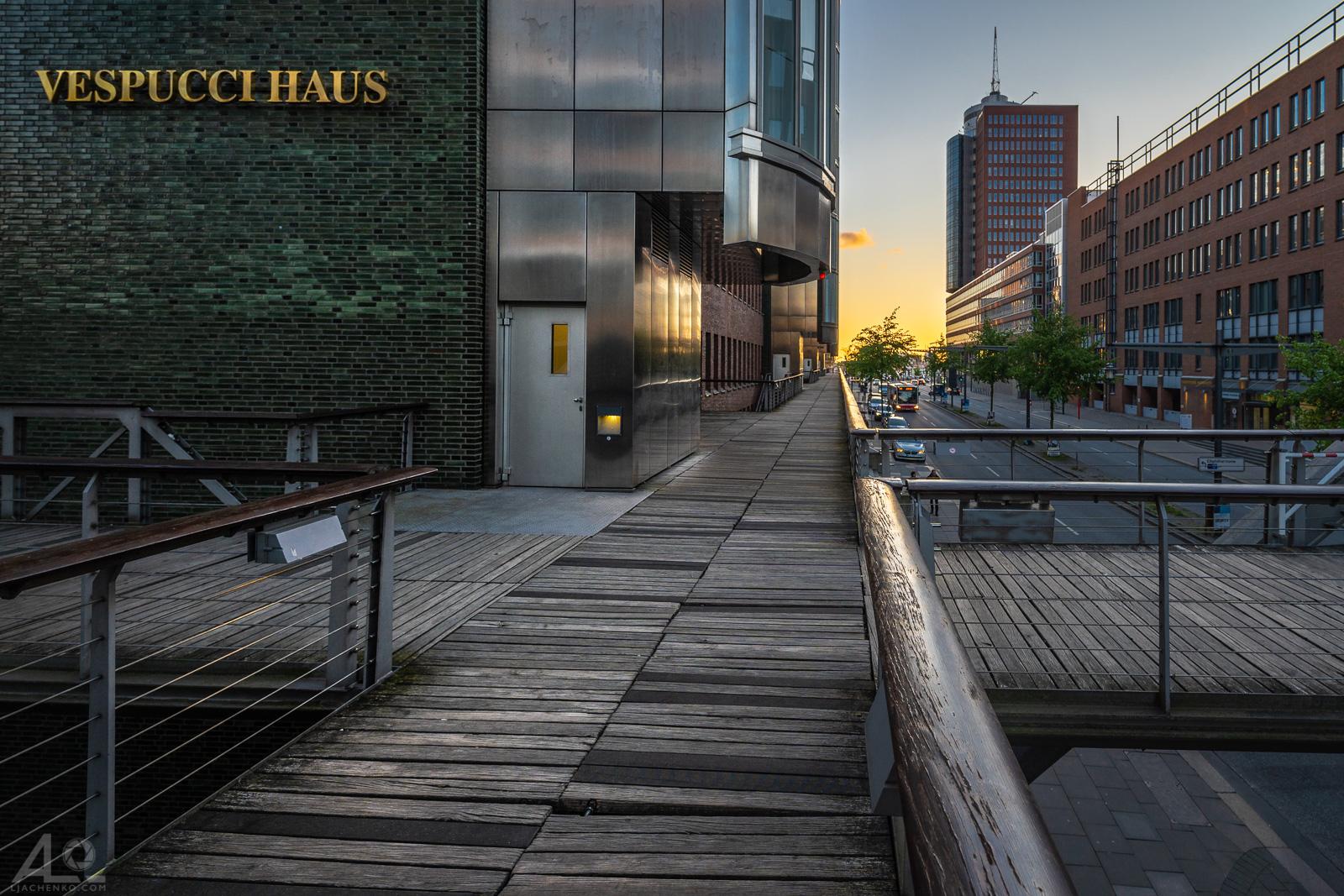 Vespuccihaus, Hamburg Hafencity