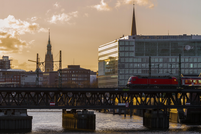 Hamburg, Oberhafenbruecke
